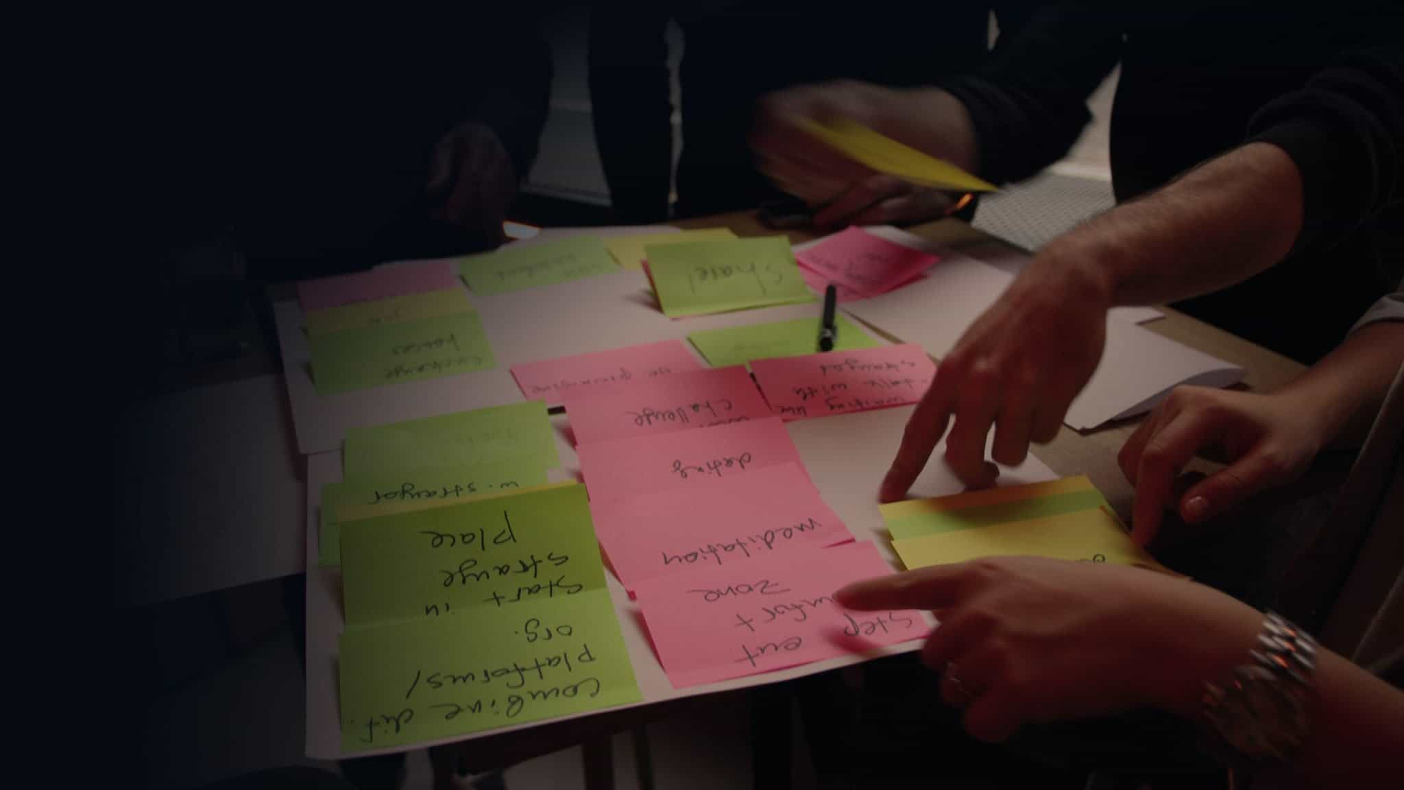 Design Thinking in practice - Brainstorming